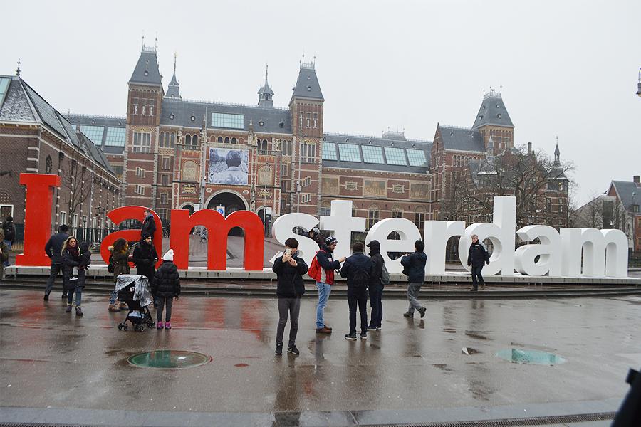 Amsterdam no inverno