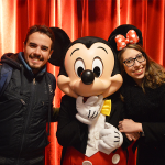 disneyland paris foto com o mickey