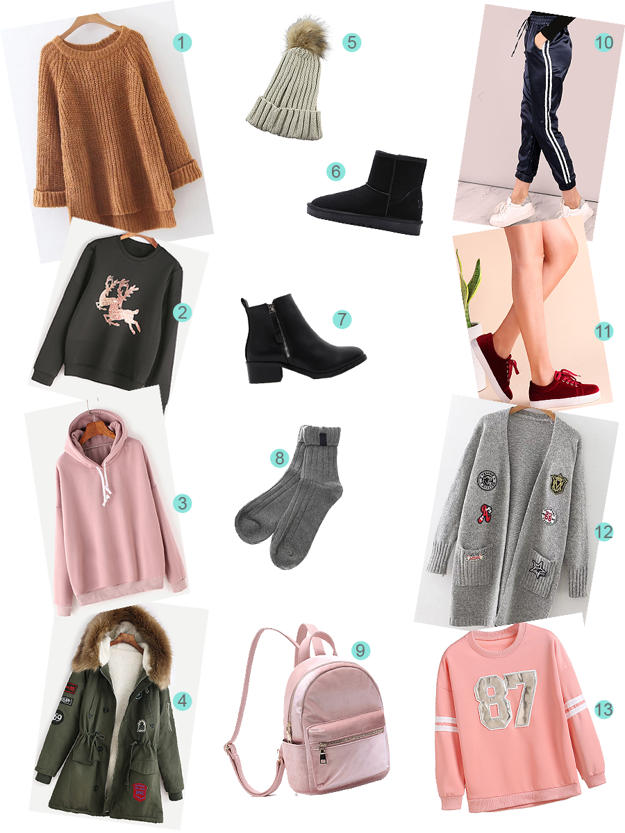 Wishlist de inverno She in
